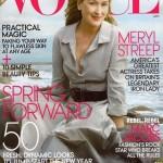 62-jährige Dame schmückt das Cover der 'VOGUE'