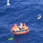 Schiffbrüchige von Kühlbox und Handy gerettet
