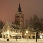 In Deutschland geht trotz der Kälte das Licht nicht aus