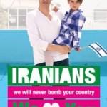 Friedensgrüße zwischen Israelis und Iranern