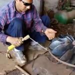 Energiegewinnung im Himalaya mit Hilfe von Mühlen