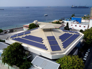 Malediven Solarenergie, Sonnenenergie, KYOCERA