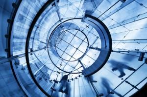 Glasbau modern, Baumaterial der Zukunft