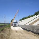 Oberpfalz erhält ersten Bahn-Lärmschutzwall aus Solarmodulen