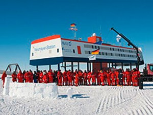 neumayer station 3, antarktis, Georg von Neumayer