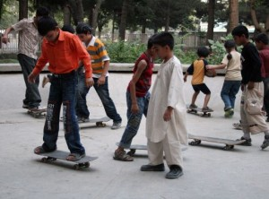 skateistan, training, skating in afghanistan