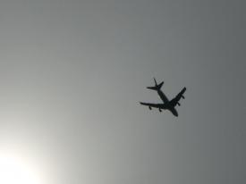 Boeing in der Luft