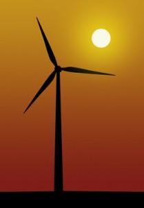 Erneuerbare Energien, Windkraft, Energie und Romantik