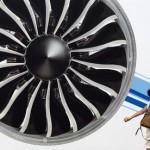 Leisere und sparsamere Triebwerke für Flugzeuge