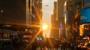 Manhattanhenge, Sonnenschauspiel in New York