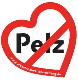 Pelz Button, Pelz, Buttun Albert Schweitzer Stiftung