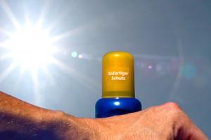 Sonnenschutz, Sonnencreme