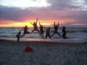 Tag der Freundschaft 2012, Freudenspruenge, Ostsee
