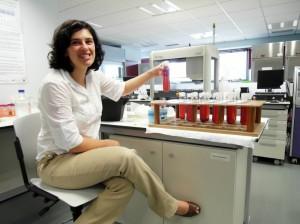 junge portugiesische Unternehmerin