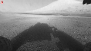 Erste Bilder von Curiosity, Mars-Rover