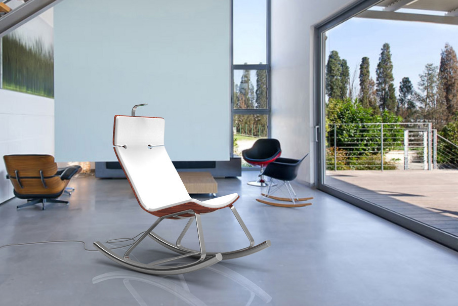 schaukelstuhl durch schaukeln strom erzeugen gute nachrichten. Black Bedroom Furniture Sets. Home Design Ideas