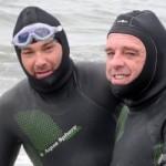 Mann ohne Gliedmaßen durchschwimmt vier Meerengen