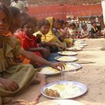 Ein Mann, eine Erkenntnis, eine Suppenküche in Indien