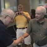 Wiedersehen zweier Brüder nach 80 Jahren