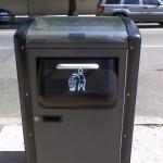 Intelligente Mülleimer sparen Kohlenstoffdioxid