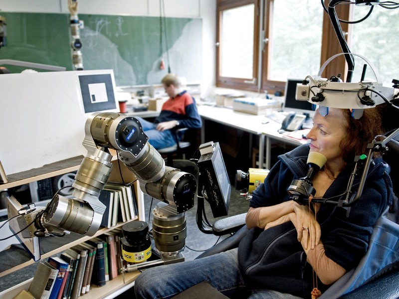 Lena Kredel, FRIEND, Assistenzroboter