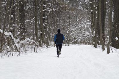 Joggen, Laufen im Winter, positive nachrichten
