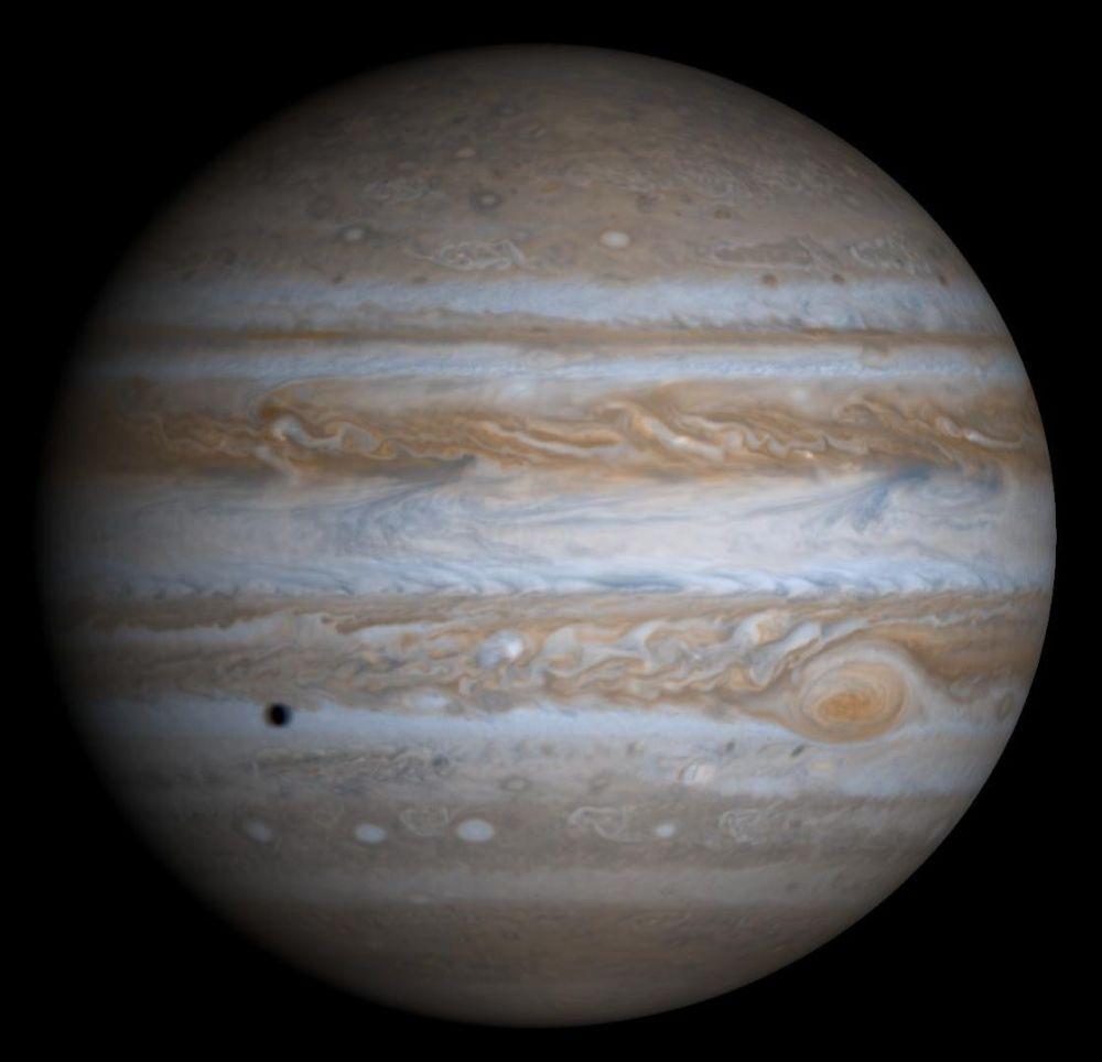 Jupiter, Grosser Roter Fleck, positive Nachrichten