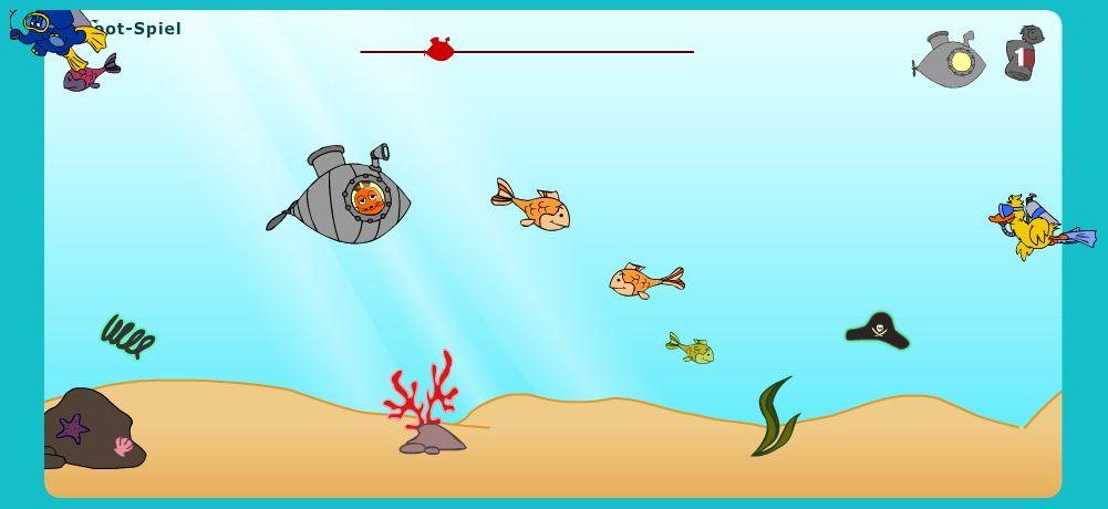 U-Boot Spiel, die Maus, positive Nachrichten