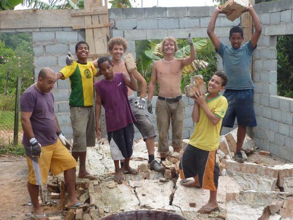 SAMMA, Kinder aus Sao Paulo, Praktikanten und Helfer, positive nachrichten