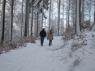 Spaziergang, Winter, spazieren gehen, positive nachrchten