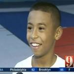 11-jähriges Basketball-Talent zeigt es den Großen