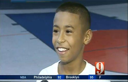 Julian Newman, basketball-wunder, kind, positive nachrichten