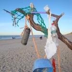 Müll aus dem Meer wird zu Verpackungsmaterial