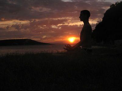 Meditaion, Abenddaemmerung, Tummo, Koerpertemperatur regulieren, positive nachrichten