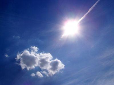 Sonne, Wolken, Solarenergie, Himmel, positive nachrichten