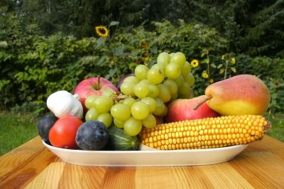 kultur  Ein Hektar Gartenland für jeden Russen Obst und Gemuese in der Schale