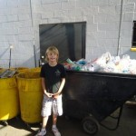 Zehnjähriger Junge betreibt seine eigene Recycling-Firma