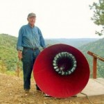 89-Jähriger entwickelt flügellose Windturbine