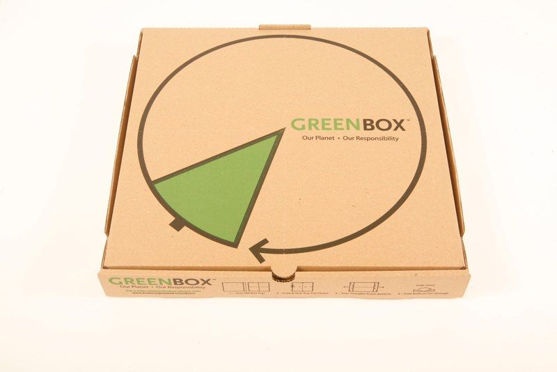 greenbox, pizza, verpackung, positive nachrichten