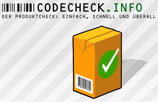 codecheck, plattform, positive nachrichten, verbraucherhilfe