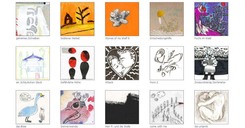 Mailetti, Unikate per Post, Kunst, positive nachrichten