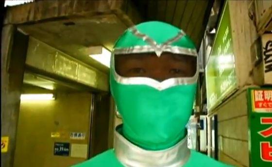 Superheld, U-Bahn, Tokio, Power Ranger, positive nachrichten
