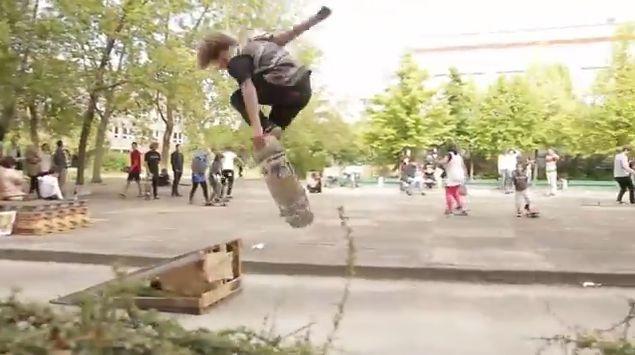 Hilfe durch Skateboarding, positive nachrichten