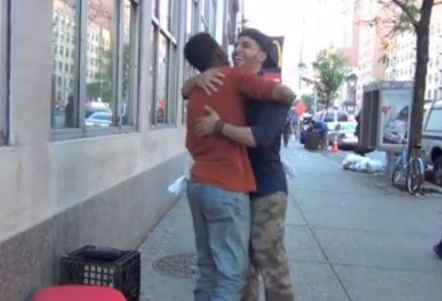 Make The Homeless Smile, positive nachrichten
