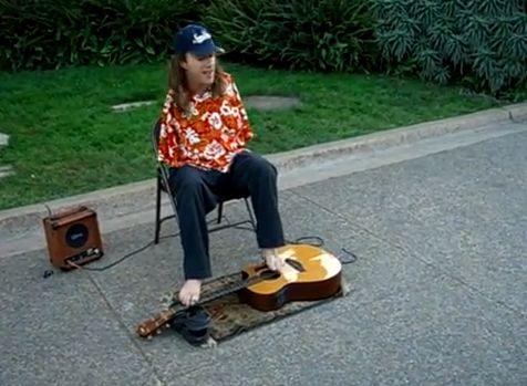Mark Goffeney, Gitarre, positive nachrichten, handicap