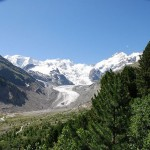 Alpen-Gletscher trotzen Hitzesommer 2013