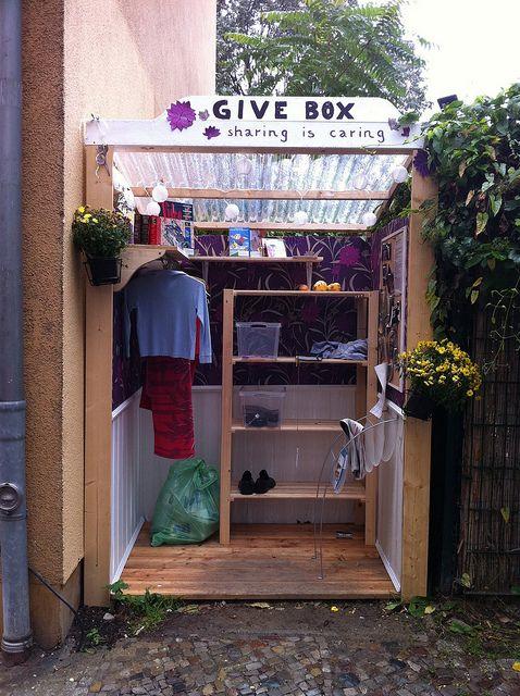 givebox, teilen, schenken