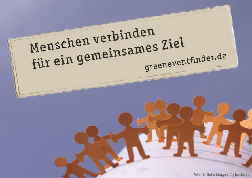 kultur  ″greeneventfinder″ – Gemeinsamer Pool für mehr Aufmerksamkeit greeneventfinder