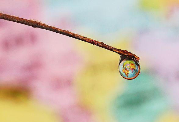 Erde, Planet, Weltkarte, positive nachrichten
