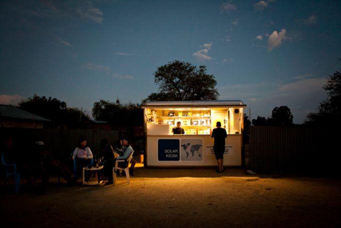 solarkiosk, solartechnik, entwicklungshilfe, afrika